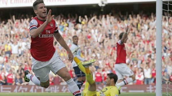 Giroud Spurs 600x337 The Top 5 Must See Soccer Matches On Television This Weekend