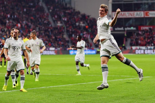Kroos Leverkusen 600x399 The Top 5 Must See Soccer Matches On Television This Weekend