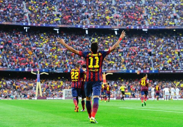 Neymar Clasico 600x416 The Top 5 Must See Soccer Matches On Television This Week
