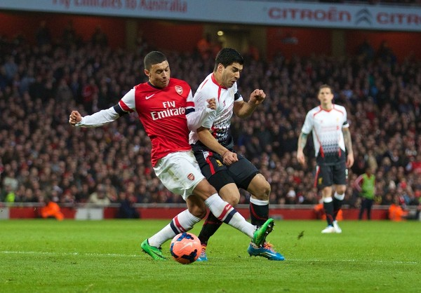 Ox Suarez 600x418 Why Does It Continue To Go Wrong For Arsenal?