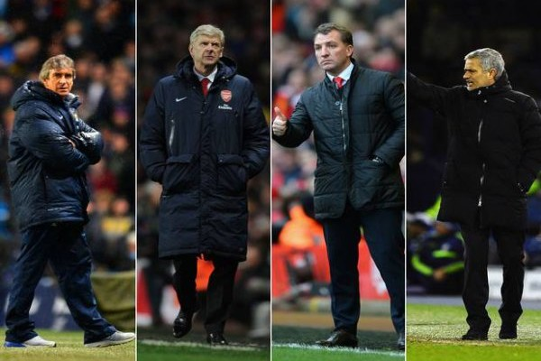 Pellegrini Wenger Rodgers Mourinho Who Do YOU Want to See Win The Premier League?