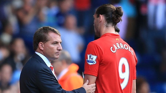RODGERS MADE THE BIG DECISION TO AXE ANDY CARROLL