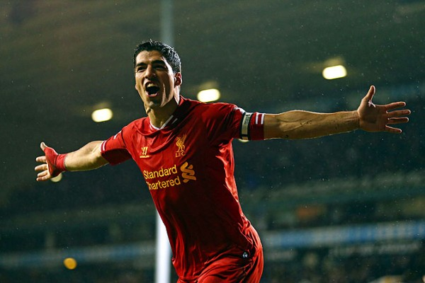 Suarez Spurs 600x400 Top 5 Must See Soccer Games On TV This Weekend