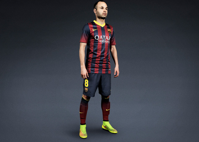 andres iniesta Nike Unveil Radical, New Soccer Boot Named Magista: Official [PHOTOS]