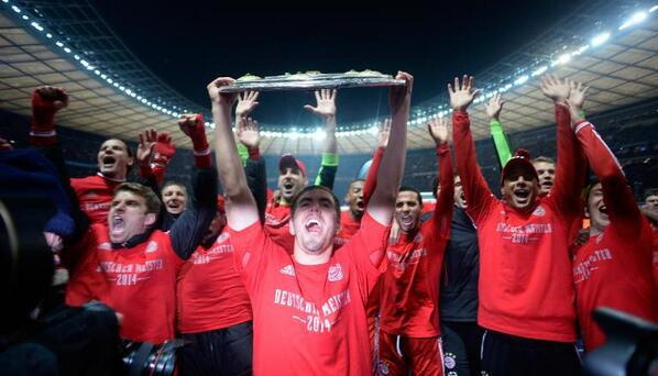 bayern munich Hertha Berlin 1 3 Bayern Munich: Bavarians Now Set Sights On New Club Record