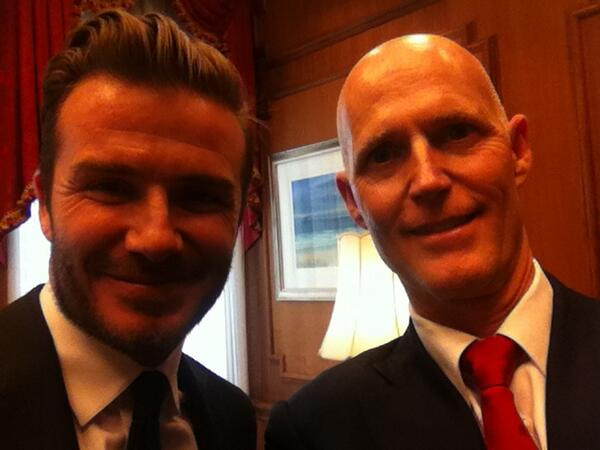 beckham rick scott David Beckham Meets With Politicians In Tallahassee In Hopes of Receiving Funding For Stadium [PHOTOS]