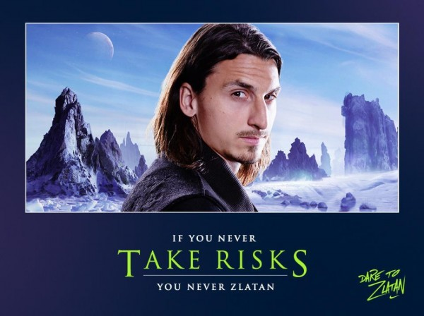 dare to zlatan1 600x448 Do You Dare to Zlatan? [VIDEO]