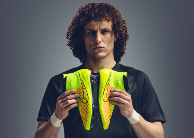 david luiz Nike Unveil Radical, New Soccer Boot Named Magista: Official [PHOTOS]