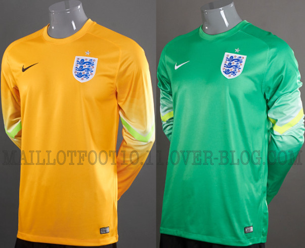 england world cup goalkeeper shirts England World Cup Home and Away Shirts From Nike: New Leaked [PHOTOS]