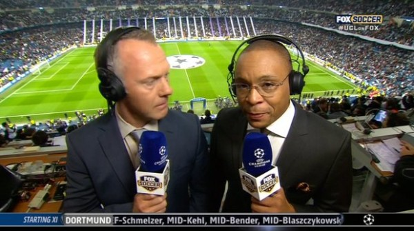 gus johnson warren barton 600x335 Warren Barton Says That Gus Johnson Is One of the Best Soccer Commentators In The World