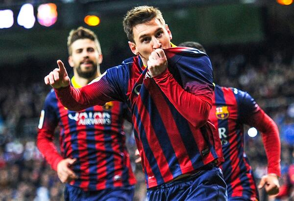 leo messi WATCH Real Madrid 3 4 Barcelona, el Clasico Goal Highlights In HD [VIDEO]