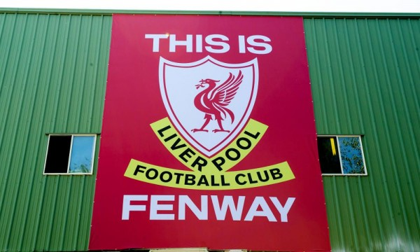 liverpool fenway park 600x360 Liverpool Announce Friendly Against AS Roma to Be Played at Fenway Park In Boston