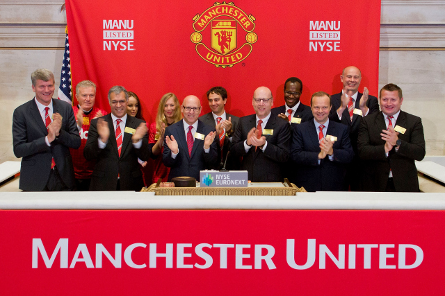 manchester united nyse Manchester United Shares Acquired By American Investment Firm