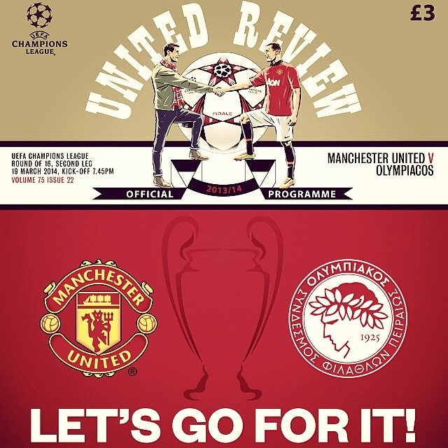 manchester united olympiakos programme Manchester United vs Olympiakos and Borussia Dortmund vs Zenit St Petersburg, 2nd Leg: Open Thread