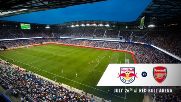 new york red bulls arsenal 600x337 Arsenal Are Coming to America: Club Announces July Friendly Against New York Red Bulls