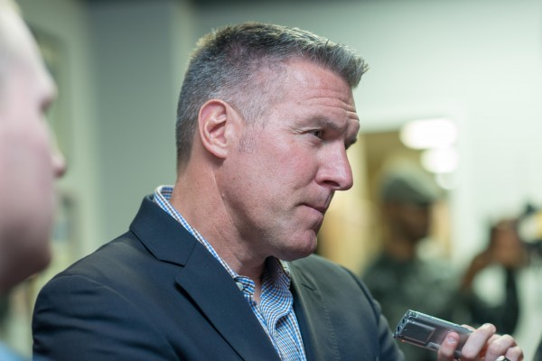 peter vermes interview 600x400 Sporting Kansas City Away Shirt For 2014 MLS Season Revealed: Media Event & Trophy Party [PHOTOS]