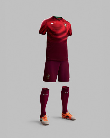 portugal world cup home kit full Nike Unveils Portugal World Cup Home Shirt For 2014: Official [PHOTOS]