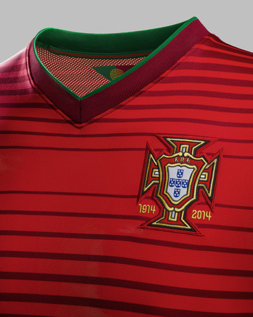 portugal world cup home shirt crest Nike Unveils Portugal World Cup Home Shirt For 2014: Official [PHOTOS]