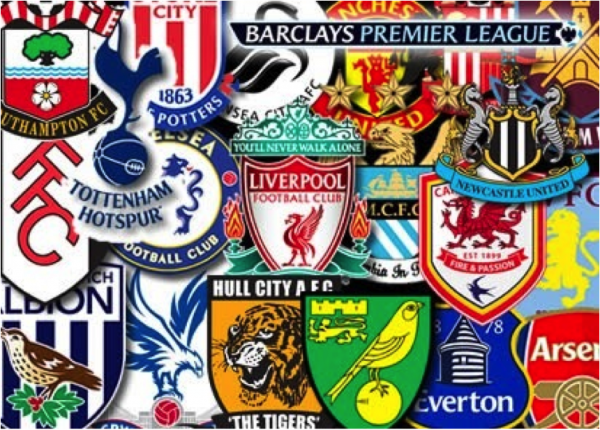 premier league crests 600x430 NBC Sports Shares More Details About Championship Sunday TV Coverage
