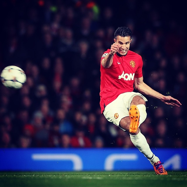 robin van persie Manchester United 3 0 Olympiakos: Match Report and Goal Highlights [VIDEO]