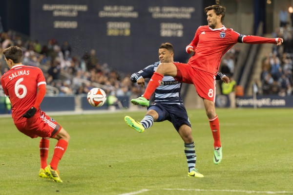 sporting kansas city earthquakes d 600x399 Sporting Kansas City 1 0 San Jose Earthquakes: Exclusive [PHOTOS]