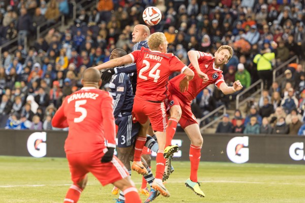 sporting kansas city earthquakes e 600x399 Sporting Kansas City 1 0 San Jose Earthquakes: Exclusive [PHOTOS]
