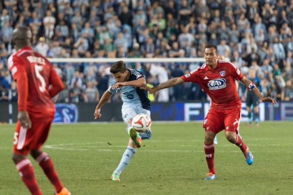 sporting kansas city fc dallas a 600x399 Sporting Kansas City 1 1 FC Dallas: Exclusive Gameday [PHOTOS]