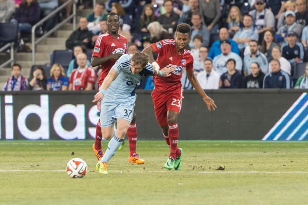 sporting kansas city fc dallas d 600x399 Sporting Kansas City 1 1 FC Dallas: Exclusive Gameday [PHOTOS]