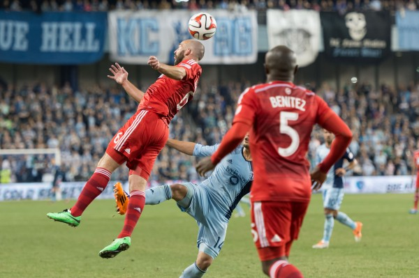 sporting kansas city fc dallas e 600x399 Sporting Kansas City 1 1 FC Dallas: Exclusive Gameday [PHOTOS]