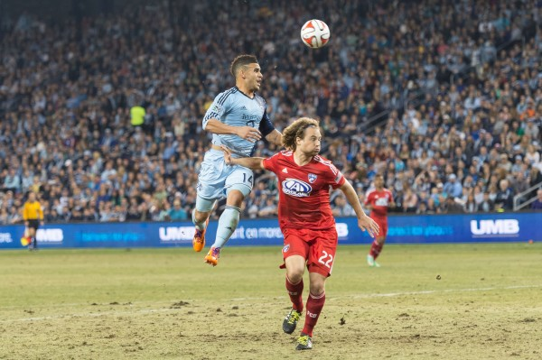sporting kansas city fc dallas g 600x399 Sporting Kansas City 1 1 FC Dallas: Exclusive Gameday [PHOTOS]