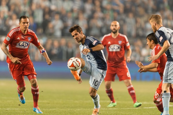 sporting kansas city fc dallas w 600x400 Sporting Kansas City 1 1 FC Dallas: Exclusive Gameday [PHOTOS]