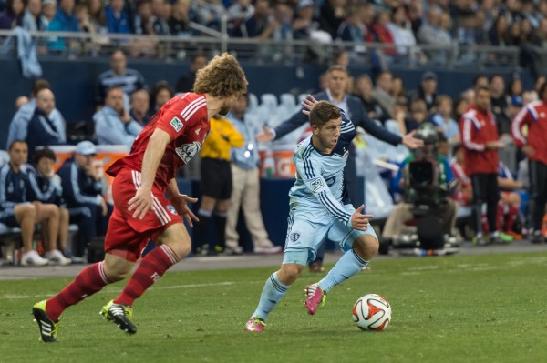 sporting kansas city fc dallas z 600x399 Sporting Kansas City 1 1 FC Dallas: Exclusive Gameday [PHOTOS]