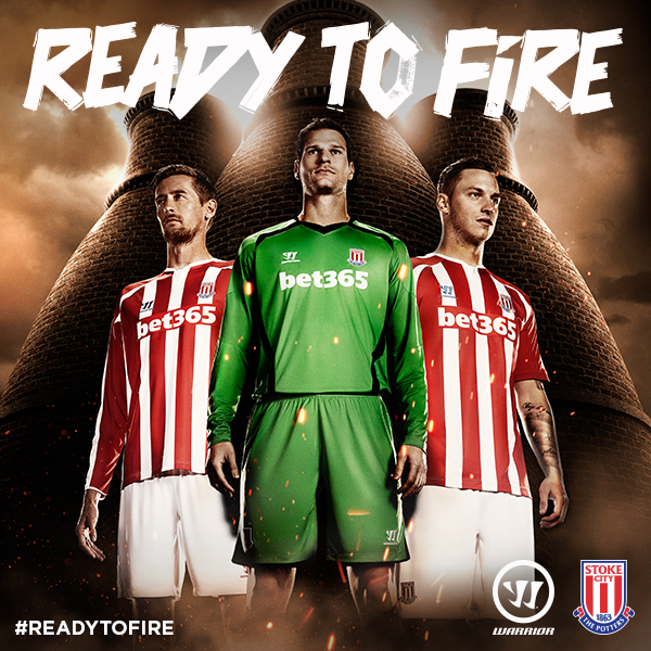 stoke city home shirt promo Stoke City Unveil Home and Away Shirts For 2014/15 Season From Warrior: Official [PHOTOS]