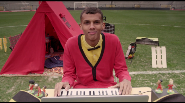stromae belgium world cup song 600x337 WATCH Belgiums Official Song For World Cup 2014 [VIDEO]