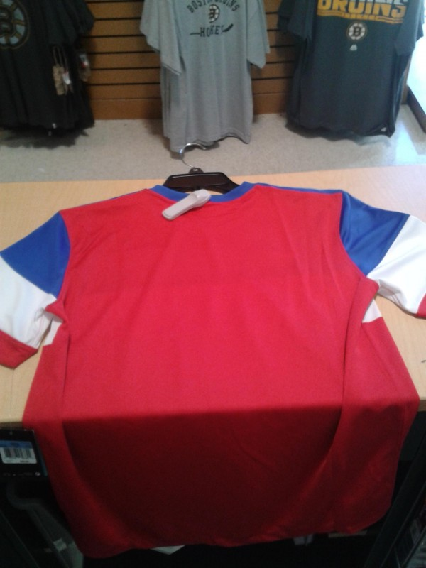 usmnt world cup away jersey back 600x800 Bomb Pops or Dominos Pizza Delivery Uniform? More Photos of USMNTs Away Jersey For World Cup 2014