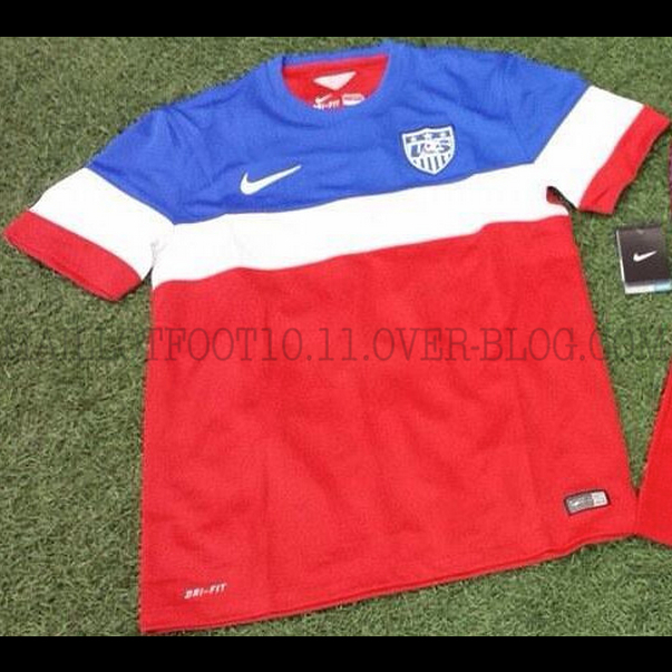usmnt world cup away shirt leaked Confirmation That This Is USMNTs World Cup Away Jersey For 2014: New Leaked [PHOTOS]