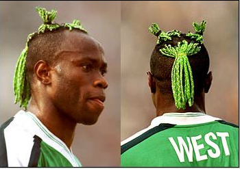 west badhair1 Top 10 Worst Haircuts in Soccer