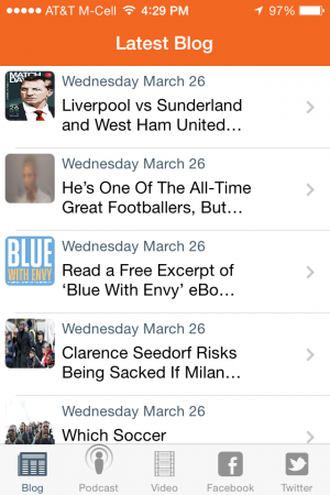 world soccer talk iphone app articles 300x450 World Soccer Talk Launches iPhone App Featuring Soccer News, Podcasts, Videos and More