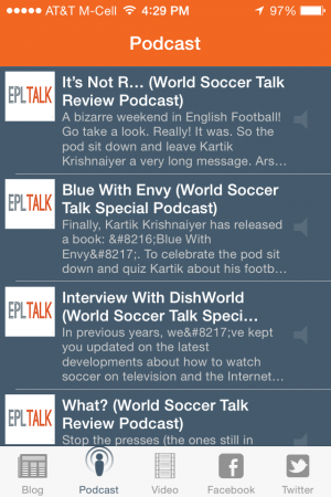 world soccer talk iphone app podcast 300x450 World Soccer Talk Launches iPhone App Featuring Soccer News, Podcasts, Videos and More