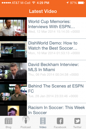 world soccer talk iphone app videos 300x450 World Soccer Talk Launches iPhone App Featuring Soccer News, Podcasts, Videos and More