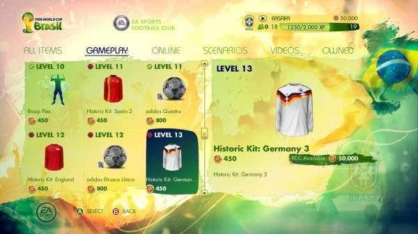 2014 FIFA World Cup Brazil video game 600x337 Review Of EA Sports 2014 FIFA World Cup Brazil Video Game Demo: A First Look