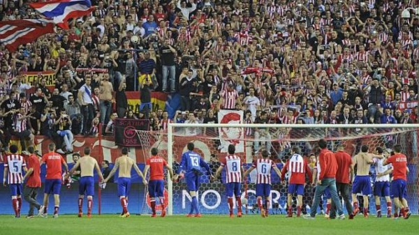 Atleti fans 600x337 UEFA Champions League: What We've Learnt From This Week's Quarter Finals