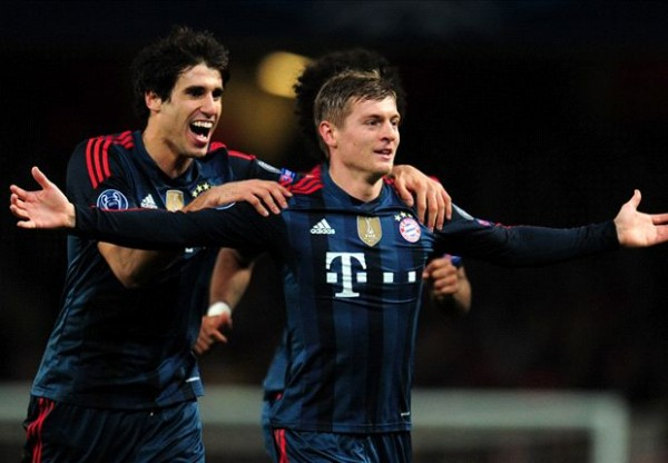 KroosArsenal 600x416 Why Manchester United Will Continue To Pursue Toni Kroos