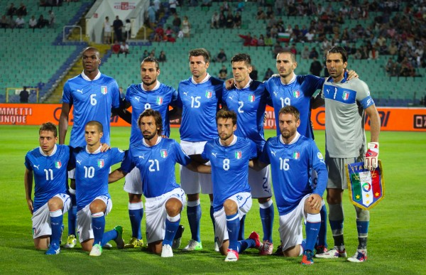 Nat team of italy 2012 600x387 World Cup 2014: Predicting Italy's Squad