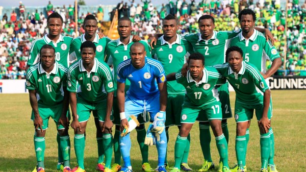Nigeria football team 017 600x337 Nigerian Eagles Set to Soar at World Cup 2014