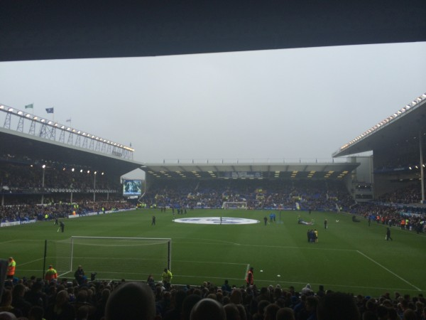 Rainy Goodison 600x450 The Thrill of Chasing UEFA Champions League Qualification: The Heart of English Football