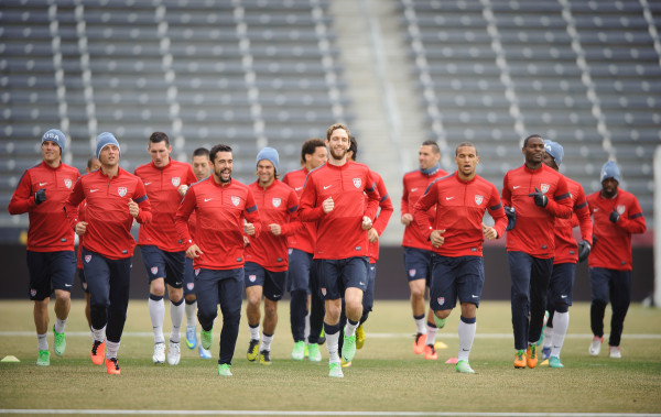 USMNTJT0320131033 600x379 Predicting The Roster For USMNTs Pre World Cup Friendlies