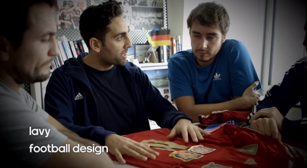 adidas football design team WATCH Behind the Scenes Footage of World Cup Shirt Designers At Work [VIDEO]