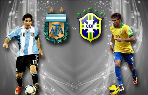 argentina brazil Superclasico of the Americas Between Argentina and Brazil is Heading to China