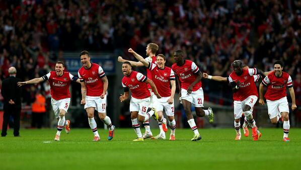 arsenal celebrate win Grading Arsenals Summer Transfers